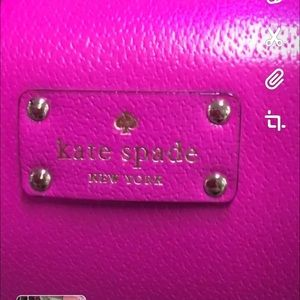 New Hot Pink Kate Spade 2 Straps VERY CUTE !
